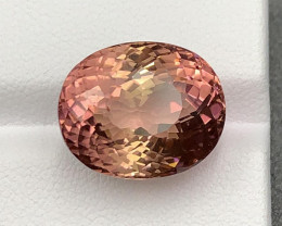 Orangish Pink Tourmaline 15.22cts From Africa