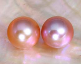 8.2mm 7.94Ct Natural Australian South Sea Pink Color Pearl B3411