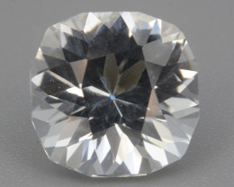 Natural White Topaz 3.36 Cts, Precision Cut, Top Luster