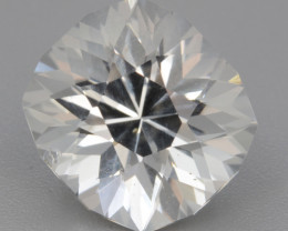 Natural White Topaz 6.33 Cts, Precision Cut, Top Luster