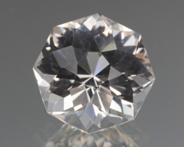 Natural White Topaz 7.85 Cts, Precision Cut, Top Luster