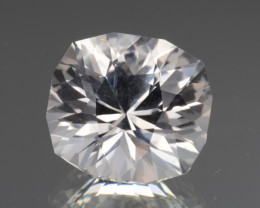 Natural White Topaz 8.46 Cts, Precision Cut, Top Luster