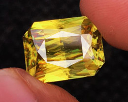 13.24 CT SPHENE DIAMOND LUSTER 100% NATURAL UNHEATED