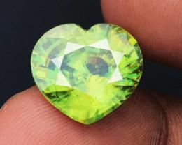 8.71 CT SPHENE DIAMOND LUSTER 100% NATURAL UNHEATED