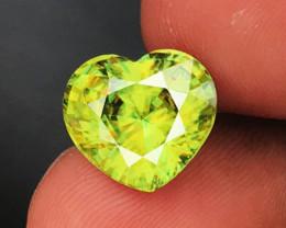 6.48 CT SPHENE DIAMOND LUSTER 100% NATURAL UNHEATED MINE  MADAGASCAR