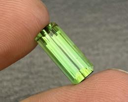5.85 cts Natural Green Tourmaline Beautiful Piece