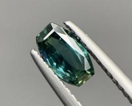 0.75 Cts Unheated Beautiful Bi-Color Sapphire. Sp-9889