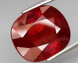 19.87Ct.Outstanding Color&Full Fire! Natural HUGE Red Spessartite Garnet Af