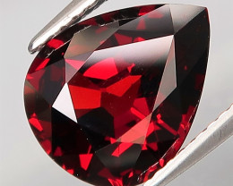 5.39 Ct.Outstanding Color Natural Red Spessartite Garnet Africa Eye Clean!