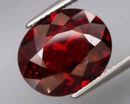 8.42  ct   Natural Earth Mined Red Spessartite Garnet Africa