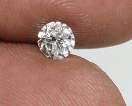 Certified $835 0.56cts  SI2 White Round Loose Diamond Brilliant