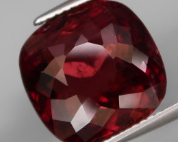 10.15 Ct.Beautiful Color&Full Fire Natural BIG Cherry Pink Tourmaline (Rube
