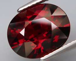 6.52  Ct.Natural Earth Mined Top Quality Red Spessartite  Garnet Africa