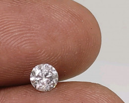 Certified $890  0.50cts  SI2 White Round Loose Diamond Brilliant