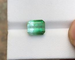 3.90 Ct Natural Bi Color Transparent Tourmaline Gemstone