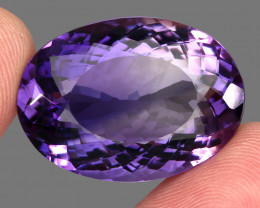 45.90 Ct. Top Quality 100% Natural Rich Purple Amethyst Uruguay Unheated