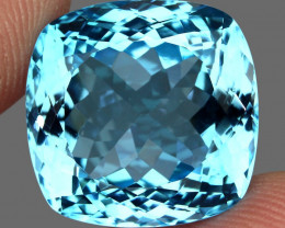 34.47 ct.Natural Earth Mined Top Quality Blue Topaz Brazil
