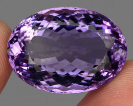 53.70  ct Natural Earth Mined Top Quality Unheated Purple Amethyst,Uruguay