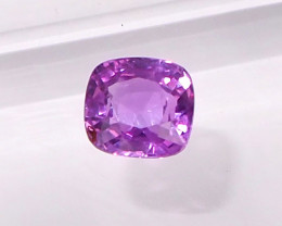 0.78ct unheated pink sapphire