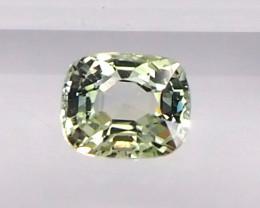 0.99ct Natural Unheated Yellow Sapphire