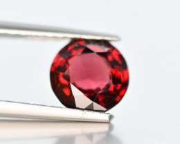 1.50 Crt Spinel Natural Red Spinel Round Cut - Burma