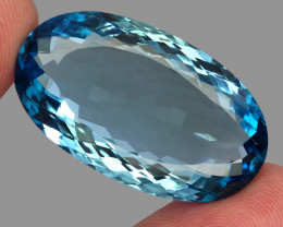 65.48  ct. 100% Natural Earth Mined Top Quality Blue Topaz Brazil