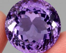 33.11 ct. Natural Earth Mined Unheated Purple Amethyst, Uruguay
