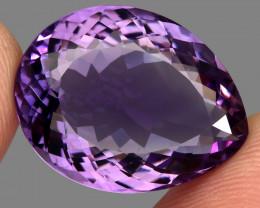 26.98  ct  Natural Earth Mined Unheated Purple Amethyst, Uruguay