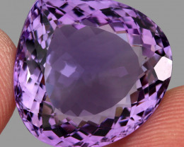 31.17  ct Natural Earth Mined Top Quality Unheated Purple Amethyst,Uruguay