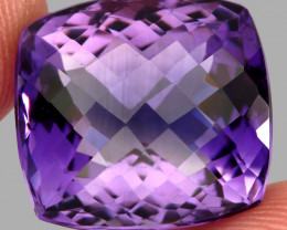 31.47  ct Natural Earth Mined Top Quality Unheated Purple Amethyst,Uruguay