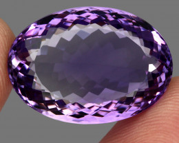 36.06 ct Natural Earth Mined Top Quality Unheated Purple Amethyst,Uruguay