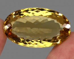 91.02  ct. Top Quality Natural Earth Mined Golden Yellow Citrine Brazil