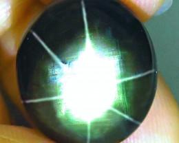 18.38 Carat Thailand Black Star Sapphire - Gorgeous