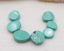 D1851 - 16.5cts Lucky Turquoise, Handmade Gemstone,Natural Turquoise bead S