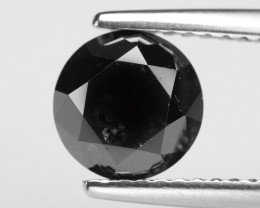Diamond 1.73 Cts Rare Black Color Natural