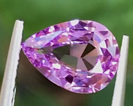 1.15 ct Pink Sapphire With Excellent Luster And Fine Cutting Gemstone