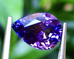1.88 ct Bicolor Sapphire With Excellent Luster And Fine Cutting Gemstone