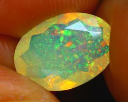 Welo Opal 1.53Ct Natural Ethiopian Faceted Welo Opal E0322/A44