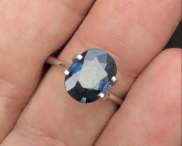 Gorgeous Color 1.40Ct Natural Royal Blue Ceylon Sapphire