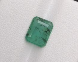 2.20 Ct Brilliant Color Natural Zambian Emerald ~ 1