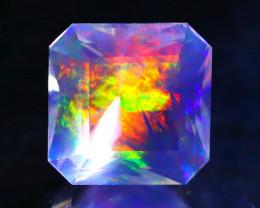 ContraLuz 2.01Ct Square Cut Mexican Very Rare Species Opal F3436