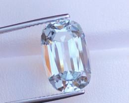 Emerald Cut Aquamarine 10.15Ct Natural  Beautiful Aquamarine Gemstone