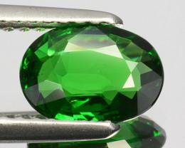 ~BEAUTIFUL~ 1.08 Cts Natural Tsavorite Garnet Vivid Green Kenya