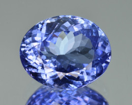Natural Tanzanite 5.76 Cts Top Grade  Faceted Gemstone