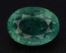 Top Color 1.45 ct Vivid Green Emerald~Afghanistan