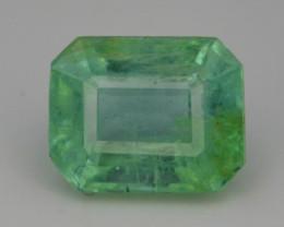 Top Color 1.80 ct Vivid Green Emerald~Afghanistan