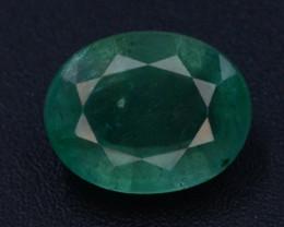 AAA Grade 2.10 Ct Natural Zambian Emerald