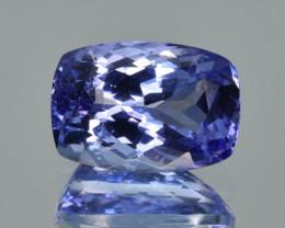Natural Tanzanite 4.21  Cts Top Grade  Faceted Gemstone