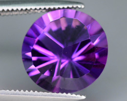Top Grade Spider Cut 3.20 cts of Natural Amethyst Ring Size ~RB
