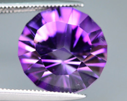 Top Grade Spider Cut 6.80 cts of Natural AmethystRing Size~RB